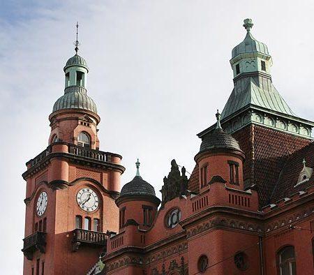 Die Rathausuhr